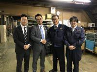 日学株式会社の方々が来てくれました!